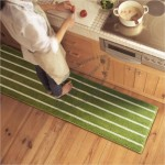 Striped Kitchen Mat