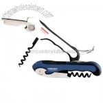 Strong curved 3-in-1 corkscrew