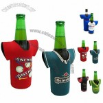 Stubby koozie in T-shirt shape