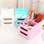 Student Pen Holder Desktop Storage Organizer Box