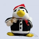 Stuffed Christmas Penguin