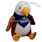 Stuffed Eagle with t-shirt