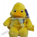Stuffed backpack duck