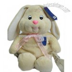 Stuffed backpack rabbit