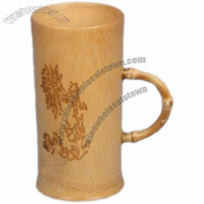 Stylish Bamboo Coffee Mug & Tea Cup