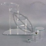 Stylish Hot-Sale Acrylic Cake Display Stand