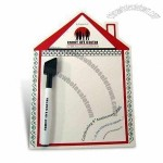 Stylish Magnetic Memo Message Board with Wipe Pen