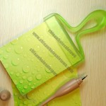 Stylish Paint Brush Hanging Memo Pad Note Pad