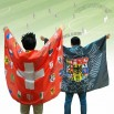Sublimation Flag Cape/Cloak for World Cup Football Fans
