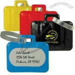 Suitcase Shaped PVC Luggage Tag