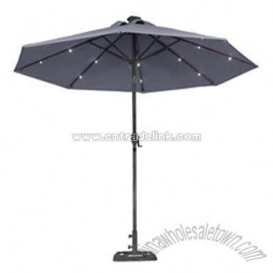 Solar light umbrellas in Outdoor Furniture - Compare Prices, Read