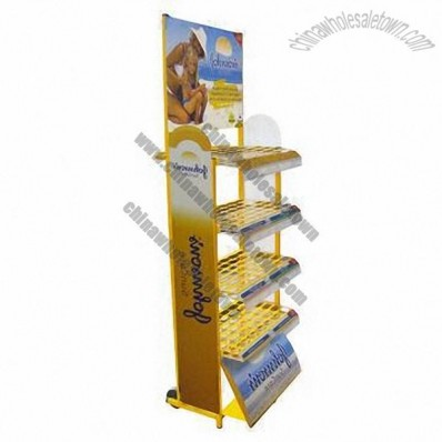 Sunscreen Display Rack, Suncare Display Stands
