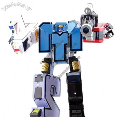 Super Figure Warrior 5 in 1 Transformer Robot Toy