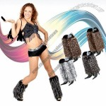 Super Soft Faux Fur Wild Style Leg Warmer