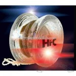 Superflash sound yo-yo with bright flashing red and blue LEDs
