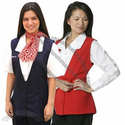 Supermarket Pharmacy Uniforms Cashiers Vest
