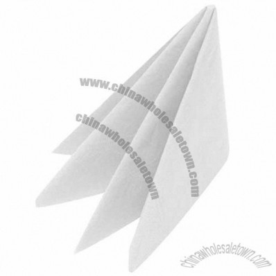 Swan White Lunch Napkin 2 ply 8-fold 33.0 x 33.0cm White