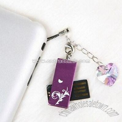 Swarovski Crystal Style USB Flash Drives