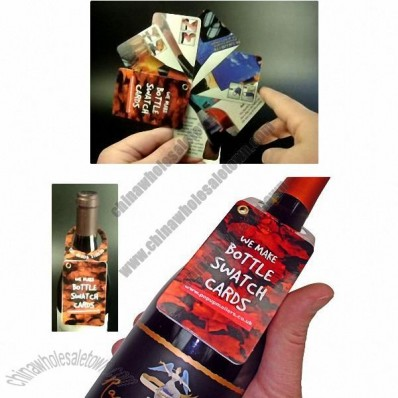 Swatch Card Bottle Media – Bottle Hanger