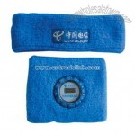 Sweat Band with Clock