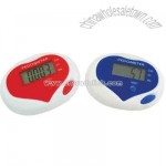 Sweat heart pedometer