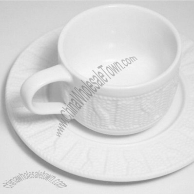 Sweater Cup and Saucer