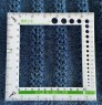 Sweater density gauge Ruler
