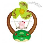Swing Shaped Cartoon Mini Fan