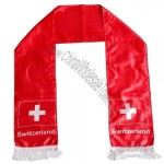 Switzerland Soccer Fan Scarf