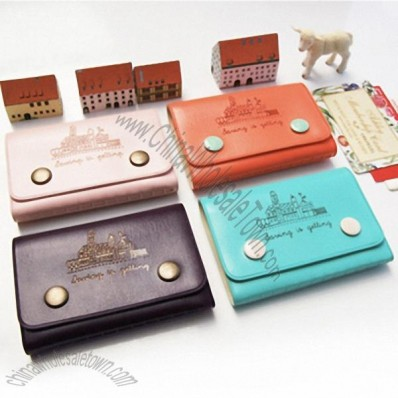 Synthetic Leather Card Case