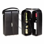 Synthetic Leather Wine Tote