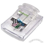 Syringe Pop-up Memo & Paper Clip Dispenser ( include 20 paper clip)