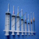 Syringes, Made of Transparent PP