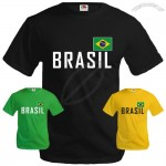 T-Shirt for World Cup BRASIL Fans