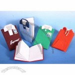 T-shirt shaped note book