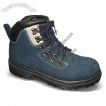 TPR Injection Outsole Work Shoes/Hiking Boots with Cow Suede Upper