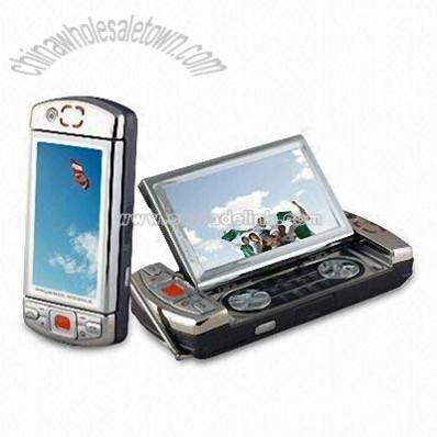 TV Mobile Phone with Dual SIM Single Operation and Touchscreen Function