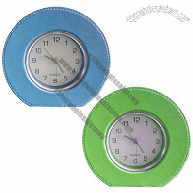Table Alarm Clock PU wrapping