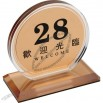 Table Number Plate and Menu Holders