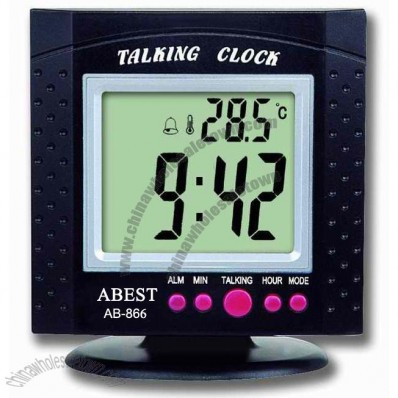 Table Talking Clock