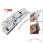 Tailor Sewing White Flex Tape Measure Cloth Ruler White 150cm 60