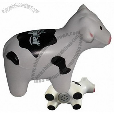 Taking Cow Stress Balls
