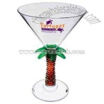 Tall martini glass