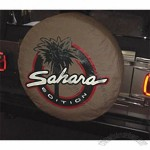 Tan Sahara Tire Cover