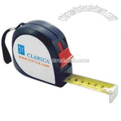 Tape measure with large 25 mm blade.