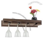Teak 8 Wineglass Rack Holder