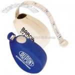 Tear Drop Tape Measure with Release Button
