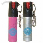 Tear Gas Ejector with Chain Key Lipstick Pepper Spray 20ml for Woman
