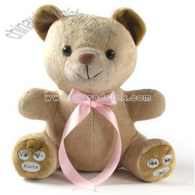 Teddy Bear MP3 With Recorder