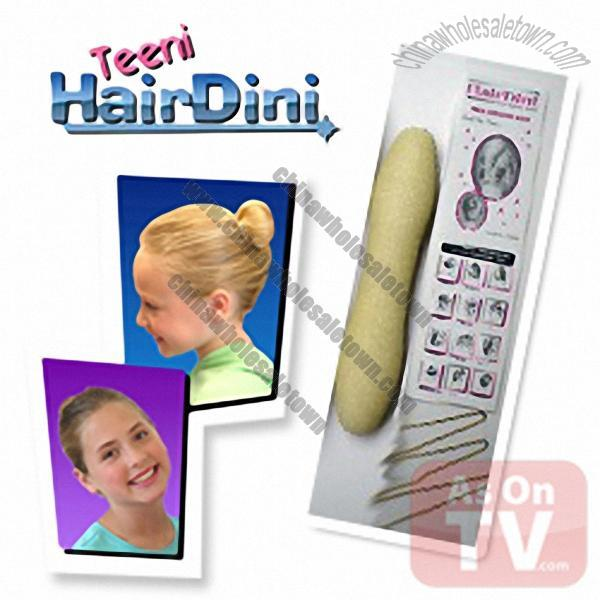 Teeni Hairdini Magic Styling Wand Bun Maker New Suppliers, China Teeni ...